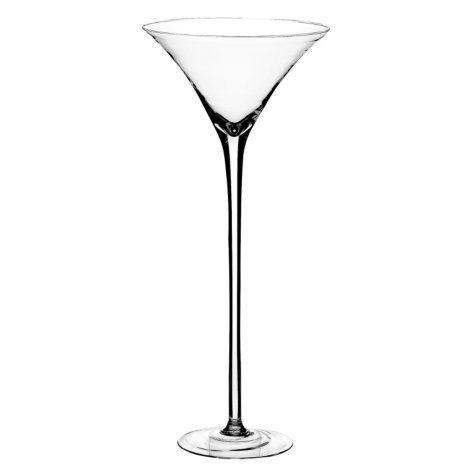 """19 1/2"""" Martini Glass - Crystal"""
