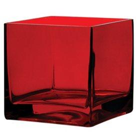 5 x 5 x 5 Square Vase (6 ct.)