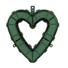 "Aquafoam Open Heart, Green (18"")"