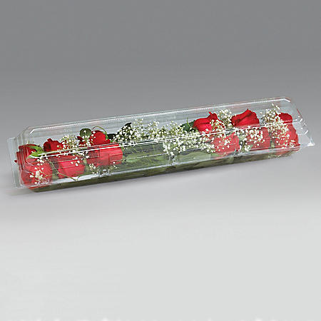 Dozen Rose Box, Crystal (50 ct.)