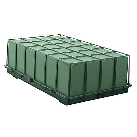 1 2/3 Brick Cage with Aquafoam - Green (6 ct.)