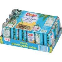 Dole 100% Pineapple Juice (8.4 oz., 24 pk.)