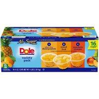 Dole No Sugar Added Mixed Fruit Variety Pack (4 oz., 16 pk.)