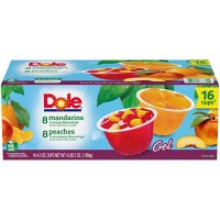 Dole Fruit Bowls in Gel Variety Pack (4.3 oz., 16 pk.)