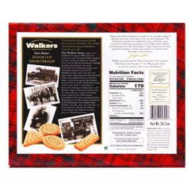 Walkers Pure Butter Shortbread Assortment 282 Oz Sams Club