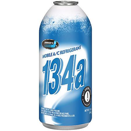 Johnsen's (R-134a) A/C Refrigerant (12-pack/12oz cans)