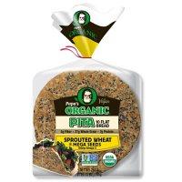 Papa's Organic Pita Sprouted Wheat & Mega Seeds (10 ct.)