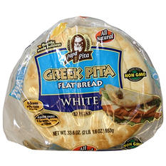 "Papa Pita Greek Pitas - 7"" - 12 ct."