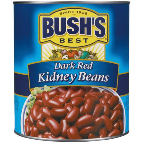 Bush's Dark Red Kidney Beans - 111 oz. can