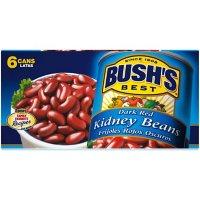 Bush's Dark Red Kidney Beans (16 oz., 6 pk.)