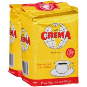 Café Crema Ground 100% Pure Coffee - 14 oz. - 2 pk.