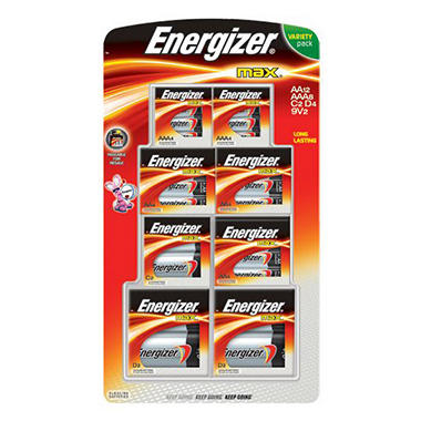 Energizer® Max® Variety Pack - 28 ct.