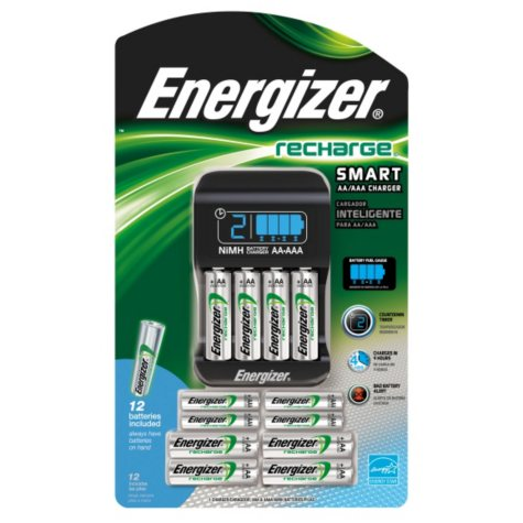 Energizer® Rechargeable Batteries & Charger