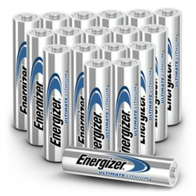 Energizer Ultimate Lithium AAA Batteries, 18 Pack