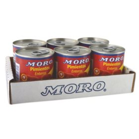 Moro Sweet Red Peppers (7 oz., 6 pk.)