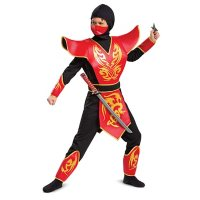 Disguise Prestige Ninja Costume (Assorted Sizes)