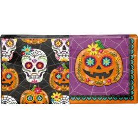 Artstyle Pumpkin Skull Halloween Napkins Twin Stack 200 ct.