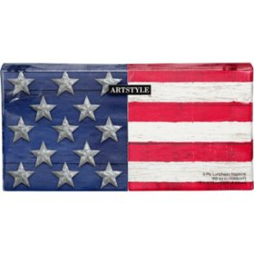Artstyle Stars and Stripes Napkins - 200 ct.