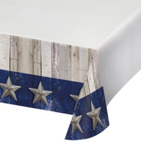 Artstyle Heart of Texas Paper Tablecloths (4 ct.)