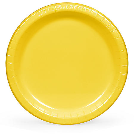"""Artstyle Yellow Paper Plates, 10"""" (90 ct.)"""