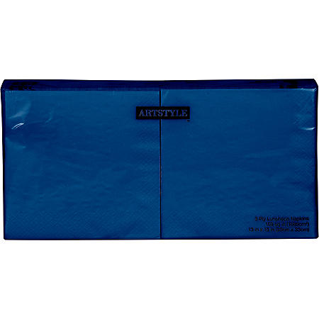 Artstyle Navy Napkins Twin Stack (200 ct.)
