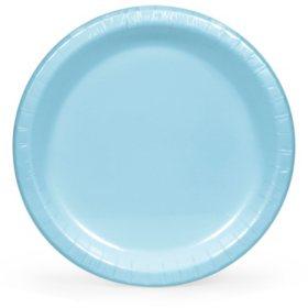 """Artstyle Pastel Blue Paper Plates, 10"""" (90 ct.)"""