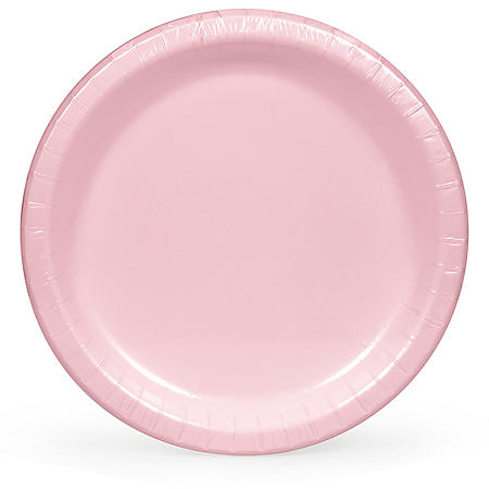 """Artstyle Classic Pink Paper Plates 10.25"""" (90 ct.)"""