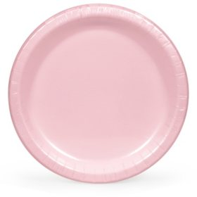 "Artstyle Classic Pink Paper Plates 10.25"" (90 ct.)"