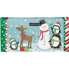 Artstyle Snowman and Holiday Friends Napkins - 200 ct.