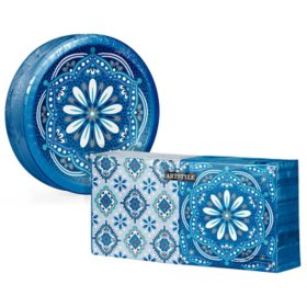 Artstyle Mandala Magnificence Paper Plate and Napkin Kit (290 ct.)