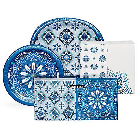 Artstyle Mandala Magnificence Tableware Kit (495 ct.)