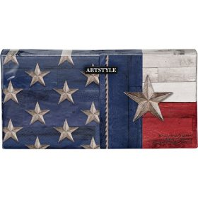 """Artstyle Patriotic Flag of Texas Lunch Napkins, 6.5"""" (200 ct.)"""