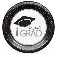 "Artstyle Classy Graduation Paper Plates, 10"" (90 ct.)"