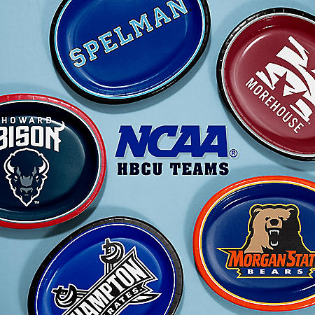 "NCAA HBCU Paper Platter Plates, 10"" x 12"" (55 ct.) (Choose Your Team)"