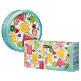 Artstyle Summer Fun Treats Paper Plates and Napkins Kit (290 ct.)