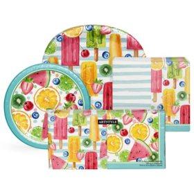 Artstyle Summer Fun Treats Deluxe Tableware Kit (495 ct.)