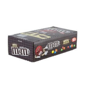 M&M's Milk Chocolate Single Size Candy, 36ct