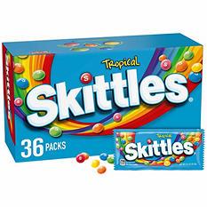 Skittles Tropical Candy (2.17 oz., 36 pk.)