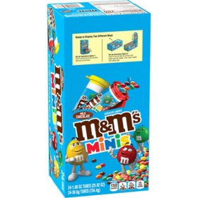 M&M's Mini Milk Chocolate Candies (1.08 oz. tubes, 24 ct.)