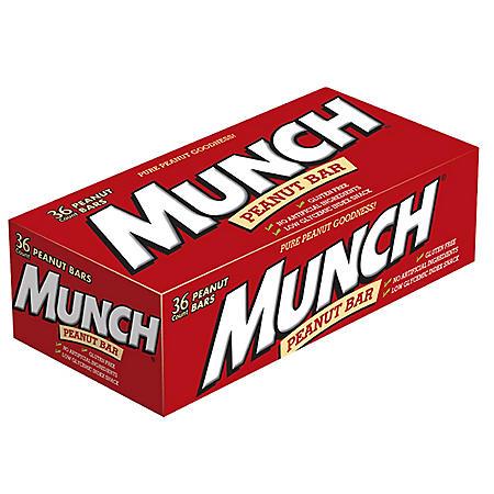 Munch Peanut Bars - 1.42 oz. - 36 ct.