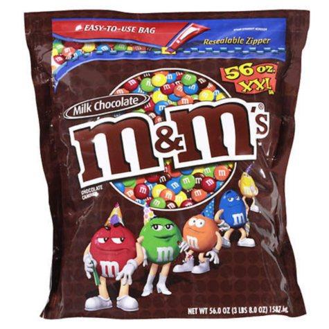 M&M's Milk Chocolate Candies (56 oz.)