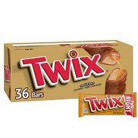 Twix Caramel Cookie Chocolate Candy Bars Bulk Pack (1.79 oz., 36 ct.)