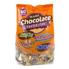 Mars Fun Size Variety Mix (29.7 oz., 60 pcs.)
