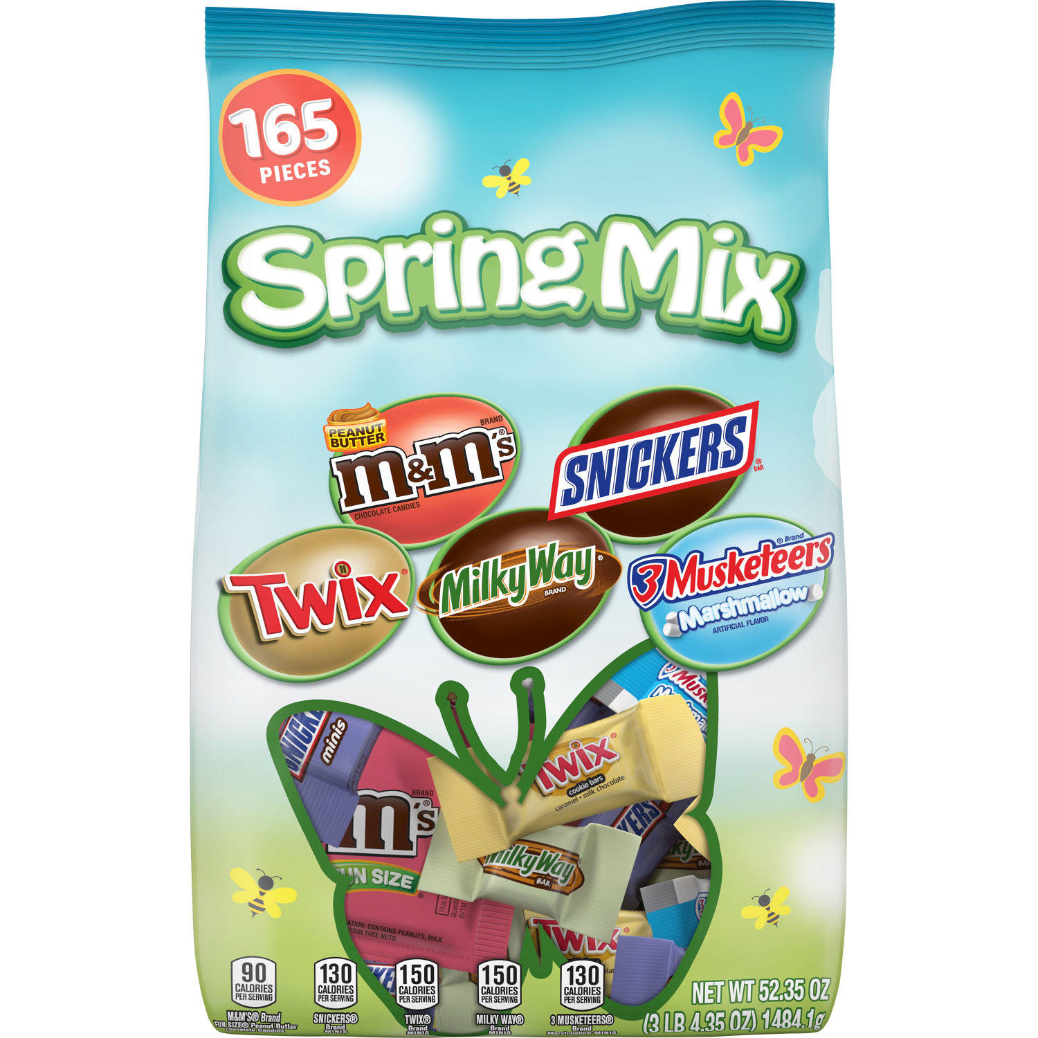165 Count 52 oz. Mars Chocolate Spring Mix