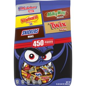 Mars Candy Minis Size Bulk Variety Pack (450 ct.)