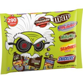 MARS Halloween Fun Size Candy Mad Scientist Bag (94.8 oz., 290 ct.)