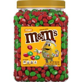 M&M's Peanut Chocolate Christmas Candy (62 oz.)