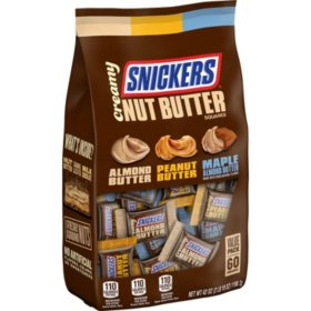Creamy SNICKERS Nut Butter Squares Variety (42 oz.)