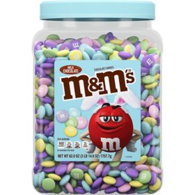 M&M's Milk Chocolate Easter Candy Jar (62oz.)