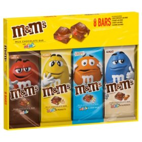 M&M'S Chocolate Candy Bars with Minis Variety Pack (8 ct.)